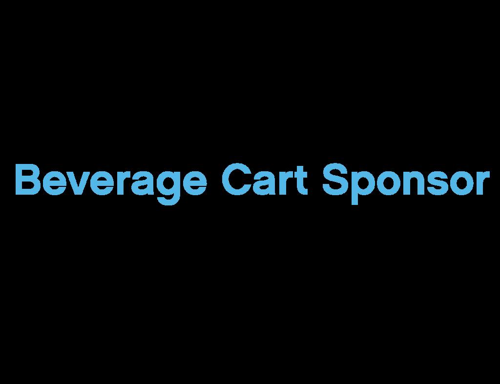 Beverage Cart Sponsor