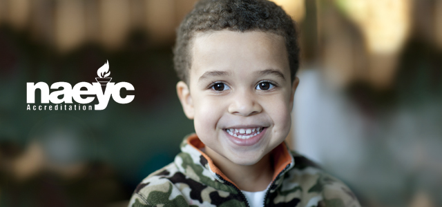 Washburn's Family Focused program is accredited by the National Association for the Education of Young Children (NAEYC), the nation's leading organization of early childhood professionals